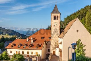 Church of Lengmoos in South Tyrol