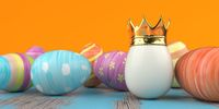 Easter Egg Golden King Crown