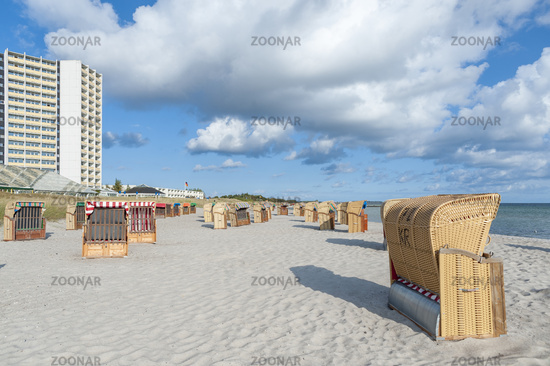 South beach in Burgtiefe