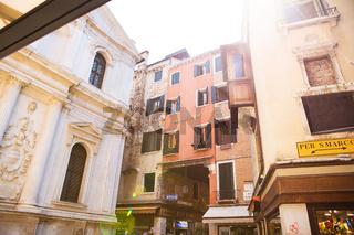 Venice is a popular tourist destination of Europe