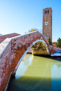 Island murano in Venice Italy
