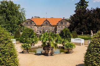 Schlosspark in Blankenburg Harz