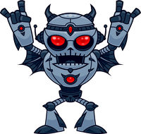 Metalhead - Heavy Metal Robot Devil
