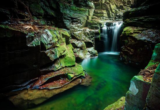 Waterfall in Macquarie Pass Australia
