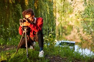 Fotograf als Landschaftsfotograf oder Naturfotograf