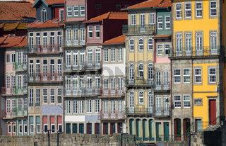 Traditional houses of Porto, Portugal