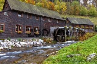 Hexenlochmühle bei St.Märgen im Schwarzwald