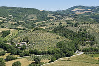 rural landscape, Assisi, Italy, Europe