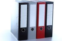 four file folder