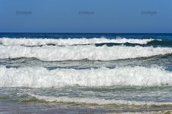 Breakers at the Costa Vicentina coast, Vila do Bispo, Portugal