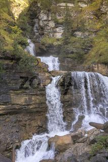 Kuhfluchtwasserfälle im Estergebirge