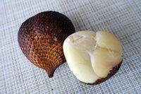 exotic snake fruit or salak fruit of salak palm (Salacca zalacca)