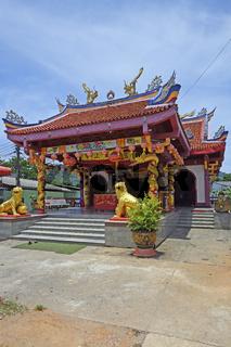 chinesischer Sam Kong Shrine,  Phuket, Thailand