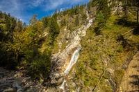 Bavarian Alps in autumn