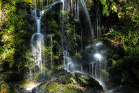 Fahler waterfall in the Black Forest