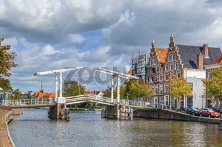 Gravestenenbrug bridge, Haarlem, Netherlands