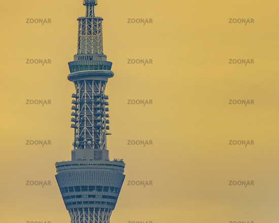 Tokyo Sky Tree Tower Long Distant Shot