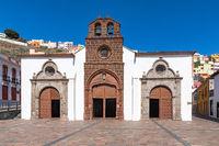 Beautiful church on La Gomera,Canary Islands, Spain