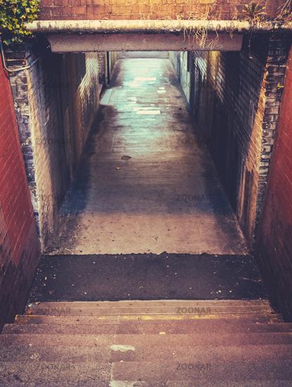 Grungy Subway Underpass