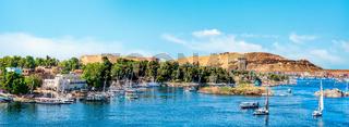 Panorama of Aswan