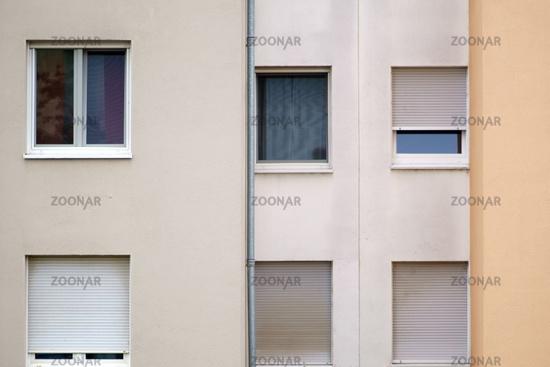 Simple residential building