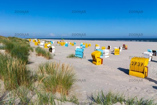 Beach and North Sea on Juist