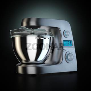 3D rendering food processor