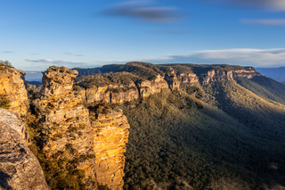 Narrowneck Blue Mountains Australia scene