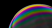 A SOAP BUBBLES WITH SPECTRAL COLORS PLAY