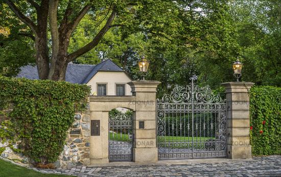 Entrance from Hofeck Castle