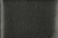 Background texture of black natural leather grain
