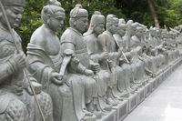 Thousand Buddhas Monastery in Sha Tin