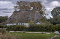 Reed house on the Schlei in Schleswig-Holstein