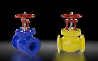 High pressure valves