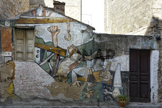 Sardinien Murals von Orgosolo