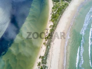 Fresh or Salty water- aerial views