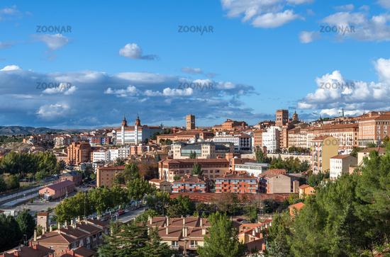 Panoramic view of Teruel, a city inAragon,Spain