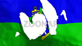 Ragged Rabat city flag