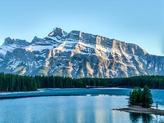 Vermillion Lakes in Banff National Park, Alberta, Canada