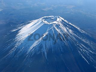 Fujiyama - Blick in den Krater,