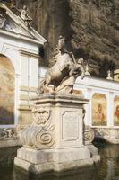 Salzburg - Baroque Pferdeschwemme (horse pond), Austria