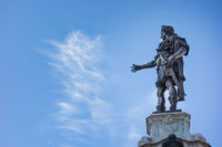 Bronze statue of Emperor Augustus