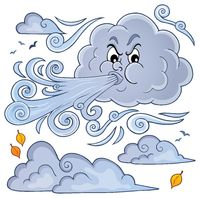 Clouds and wind theme image 1