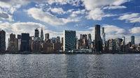 New York skyline with United Nations Headquarter