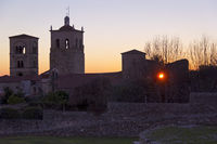 Extremadura in the night