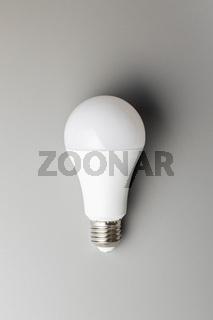 Energy saving light bulb. LED light bulb.
