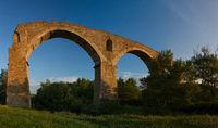 Novokavkazsky bridge over the river Egorlyk