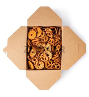 Salt Pretzels in box