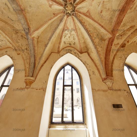 Cloister, Dalheim monastery, Lichtenau, North Rhine-Westphalia, Germany, Europe