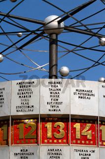 Weltzeituhr. Berlin